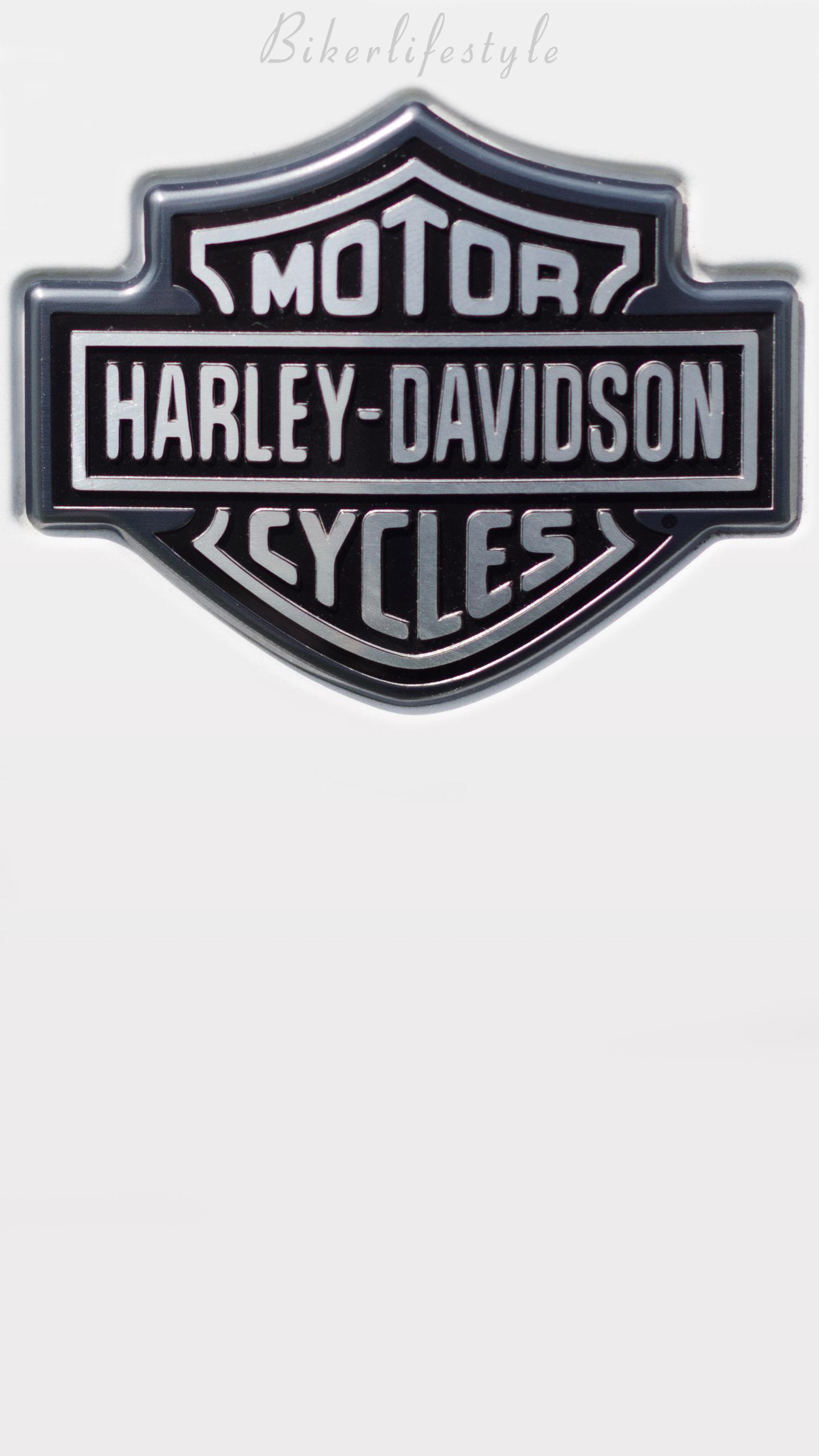 HD Logo Harley Davidson Wallpaper 1440x2560
